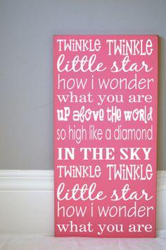 .Twinkle Twinkle Little Star