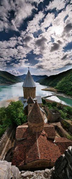 Ananuri Cathedral, Georgia (country)