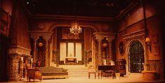 "Theatre Set Design   The Great Sebastians"" 1948 Villa Set and Lighting Design, Rick Romer ..."