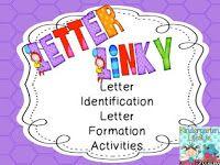 Letter Naming Fluency Freebie