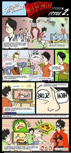 5SOS / Miko-Ro-Wave comic