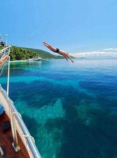Diving in Skopelos island, Greece. Paradise....