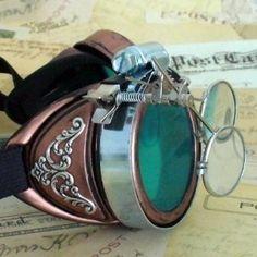 Steampunk Goggles Glasses Victorian gr