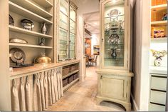 skirted cabinet