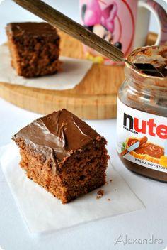 Κέικ με γιαούρτι και Nutella. Άντε να αντισταθείς!!!