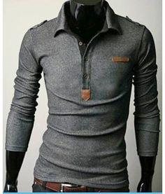 Long sleeve polo - apostolic clothing