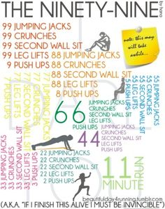 99 workout, exercise workouts, fitness workouts, workout fitness, home workouts, health tips, physical exercise, health foods, workout exercises