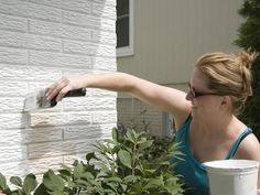 DIY Network tells you what type of paint to use on different household materials.