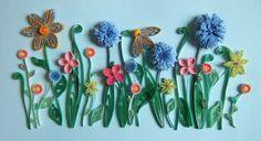 Josie Jenkins Quilling flower garden