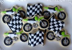 Dirt Bikes Motocross Sugar Cookie Collection
