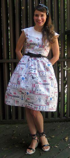vintage dress alterations DIY