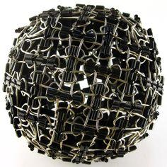 Impenetraball: binder clips