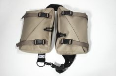 SSCY - Bandolier bag -- Over-the-shoulder double bag, designed for bicycling.