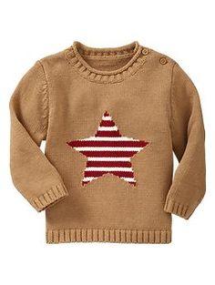 Intarsia star sweater | Gap
