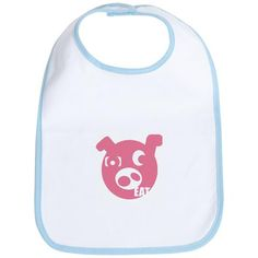Custom Bib : EAT PIG