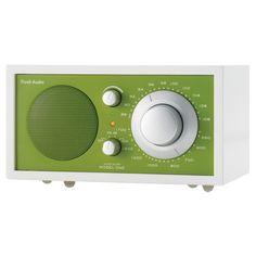 MODEL ONE RADIO - FROST WHITE / KELLY GREEN
