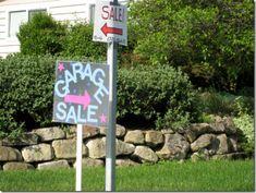 GOOD IDEAS cute yard sale signage
