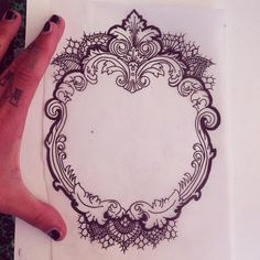 frame tattoo, this with anatomical heart as a chest piece