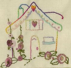 Doll house--free pattern