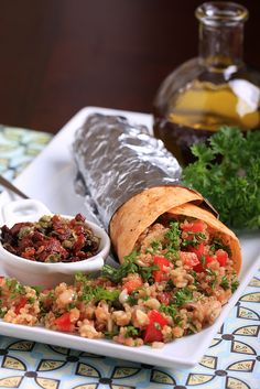 Eat healthy the last few days of November to give your system a little break before the holiday parties kick in. Our suggestion: these Protein-Heavy Quinoa Wraps from Vegan Sandwiches Save the Day.