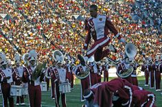 Alabama A & M University Marching Maroon and White Band @ The Magic City Classic