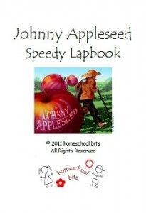 Johnny Appleseed Speedy Lapbook