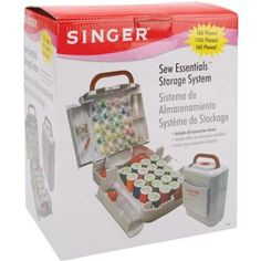 Singer Sew Essentials Storage System, 165 Pieces today on amazon for $19.99 & eligible for FREE Super Saver Shipping see more like this at www.ddsgiftshop.com like our facebook page here https://www.facebook.com/pages/DDs-Gift-Shop/113955198649056