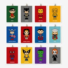 Super Hero Prints
