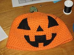 Stay warm this season with this adorable pumpkin hat. Follow this free crochet pattern and work in the round using single crochet to make this Child Pumpkin Hat.