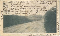 Cicero Indiana | Old Postcard of a covered bridge in Cicero, Indiana. Located Jacson ...