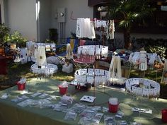 Tomato Cage Earring Displays