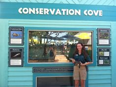 Conservation Cove is the alligator exhibit at Water Country USA.