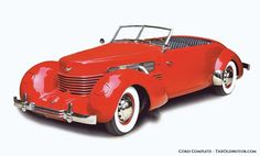 Cord 810 and 812 Supercharged Phaeton & a very brief but enthusiastic review of John B. Malks' Cord books