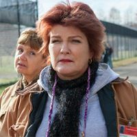 Orange Is the New Black's Kate Mulgrew on Her First (!) Emmy Nomination and More Star Trek (?!) -Do you want to add anything about Orange or your nomination? Just that I think it needs to be absolutely clearly stated that all of this is springing from the remarkable and beautiful pen of Jenji Kohan and I am very aware of that. If it's not on the page, then it cannot be. I feel so lucky to have her behind the illustration of Red.