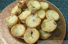 Mini Crustless Cheesecake Bites ~ www.lowcarbsensations.com