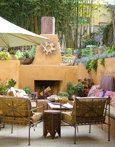 southwestern patio