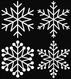 snowflake set 5-free cut file √
