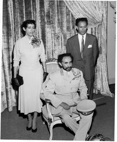 Emperor Haile Salassie of Ethiopia visiting the Glendale Sanitarium during his tour of the United States in 1954. The Emperor also visited friends, whom he had met when they were living in Ethiopia working as missionaries for the Seventh-Day Adventist Church.Glendale Central Public Library. San Fernando Valley History Digital Library.