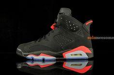 #AirJordan VI Black/Infrared 2014 #sneakers