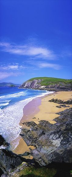 Coumeenoole Beach, Dingle Peninsula, Co Kerry, Ireland