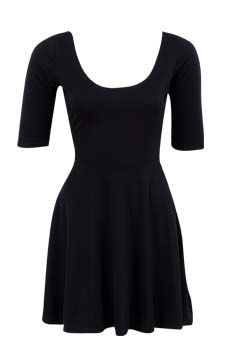 Fit And Flare Dress                                                                                  front view