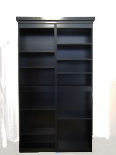 Fully Functional Murphy Door This Unit is 4' Painted Black HDF with Fluted columns, Available at www.themurphydoor.com, Rockler.com, Lee Valley, Cshardware.com.  Soon to be available at Lowes and Menards.