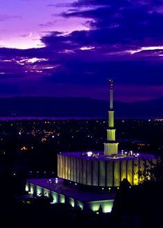 Provo Utah Temple. Gorgeous! #LDS #Mormon #Temple
