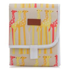 On the Go: Apple & Bee Travel Changing Pad // http://ohjoy.blogs.com/my_weblog/2012/01/baby-registry.html