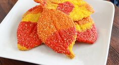 Leaf it to Us: Colorful Fall Cookies