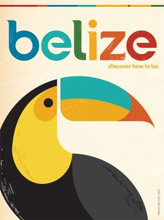 Belize #tourism #poster