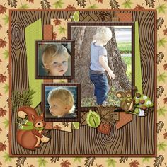 Nuts About You Page Kit