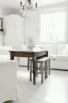 white floor!