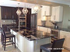 Andrea Guerriero - DRE DESIGNS  www.dredesigns.ca  www.facebook.com/dredesigns.ca  Complete Kitchen renovation