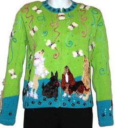 A dog sweater not for dogs but for dog lovers